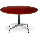 eames round table with veneer top & edge