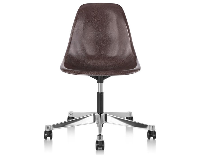 eames® side chair with task base