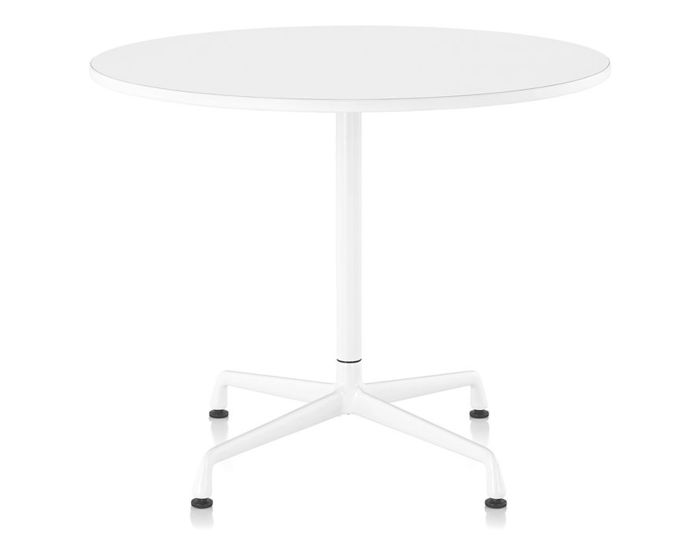 eames small table with laminate top & vinyl edge