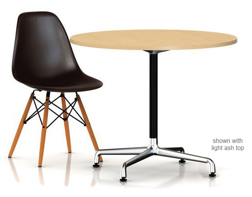 Eames Small Table With Laminate Top & Vinyl Edge - hivemodern.com