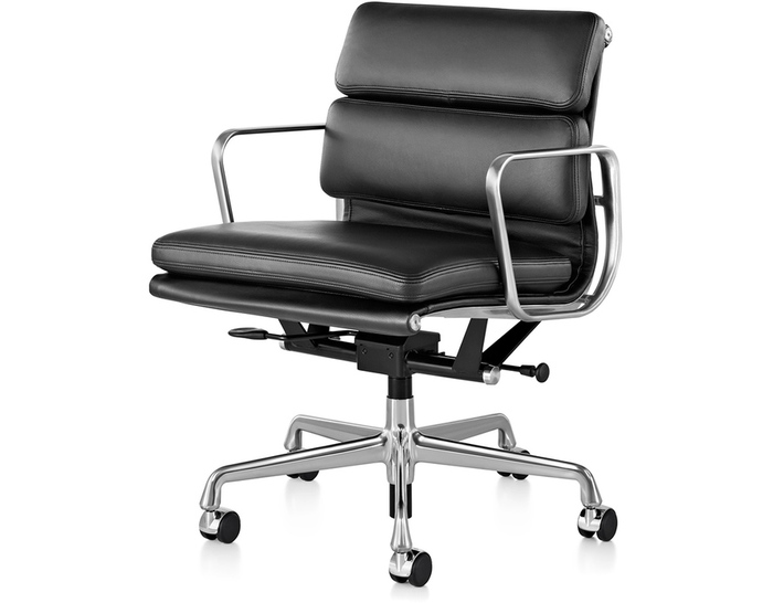 Eames soft pad group management chair for Herman miller eames aluminum group management chair