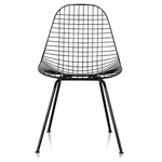 eames® wire chair with 4 leg base outdoor  -
