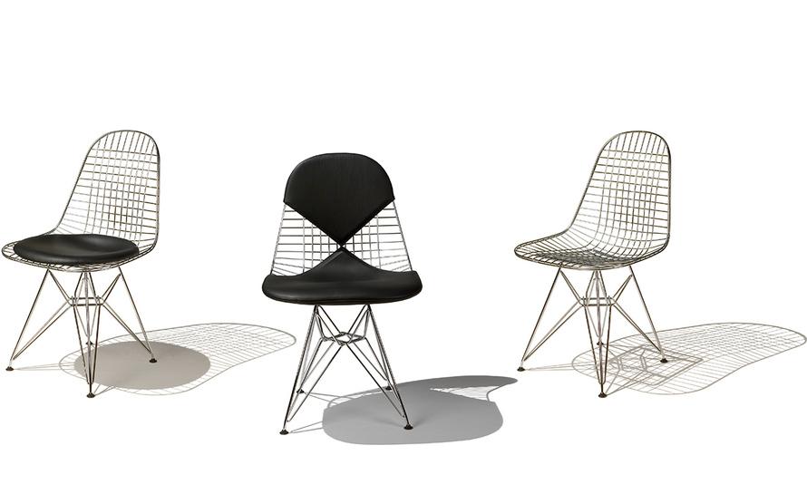 Eames 174 Wire Chair With Bikini Pad Hivemodern Com