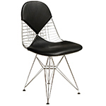 eames® wire chair with bikini pad