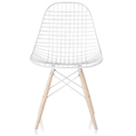 eames® wire chair with dowel base  -