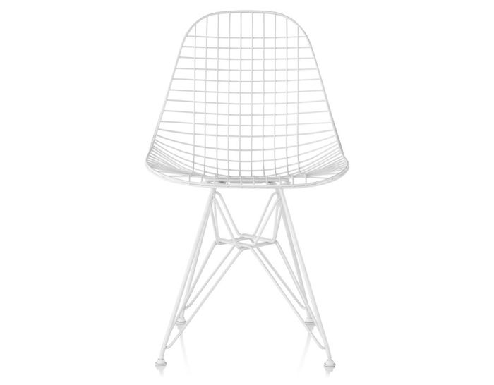 eames® wire chair with wire base outdoor