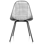 eames® wire chair with 4 leg base  -