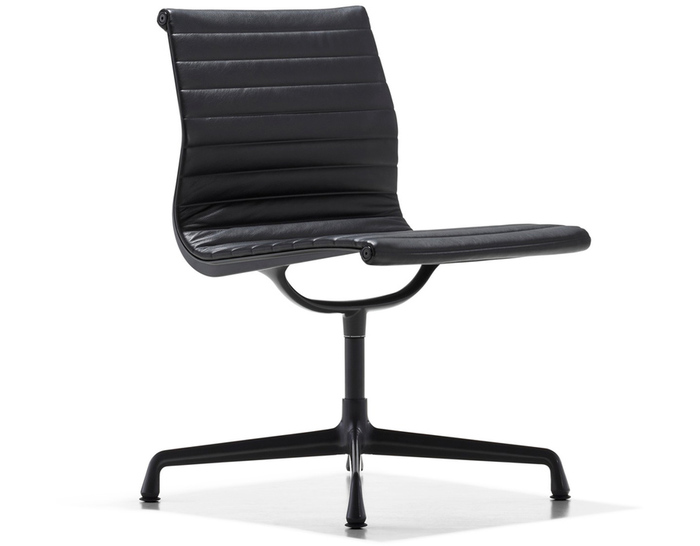 Eames aluminum group side chair for Herman miller eames aluminum group management chair