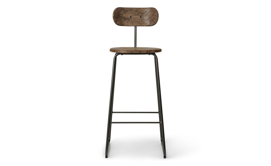 earth stool with backrest