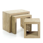 easy edges table set - Frank Gehry - vitra.