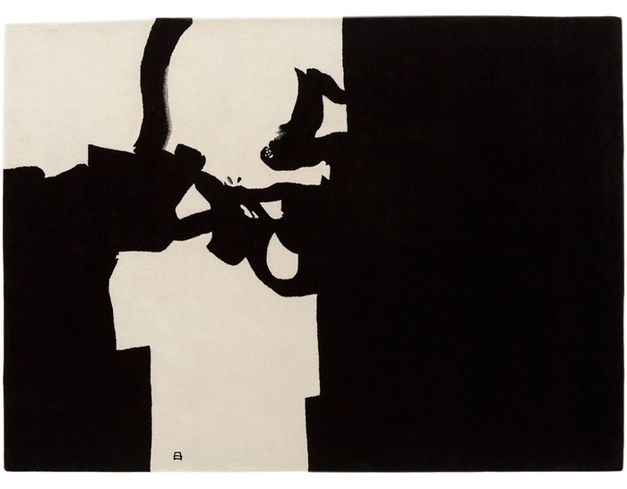 chillida collage 1966 rug