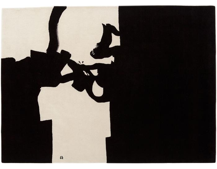 chillida collage 1966 rug