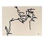 dibujo tinta 1957 rug