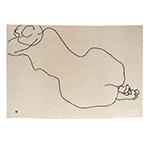 chillida figura humana 1948 rug  -