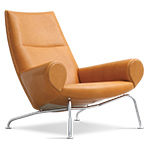 hans wegner ej101 queen chair  -