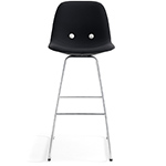 ej2 eyes metal base stool  - erik jorgensen