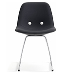 ej2 eyes metal base chair  - erik jorgensen