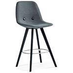 ej2w eyes wood base stool  -