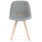 ej2 eyes wood base chair  - erik jorgensen