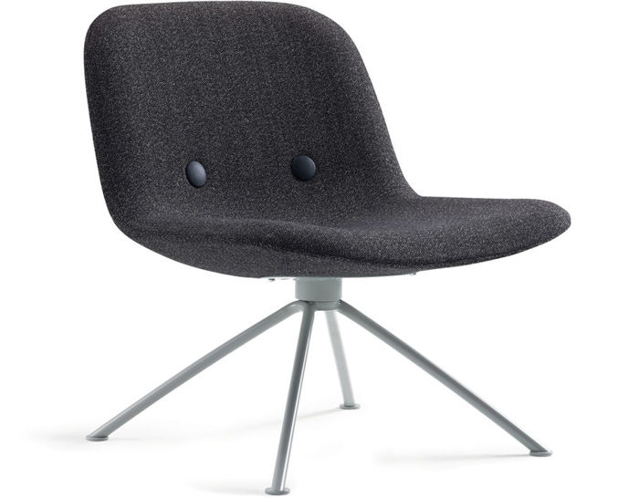 ej3u eyes lounge chair with 4 star base