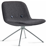 ej3u eyes 4 star base lounge chair  - erik jorgensen