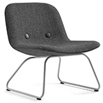 ej3u eyes lounge chair with sledge base  -