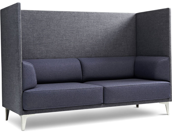 Ej400 Apoluna Box High Back 2 Seat Sofa