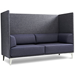 ej400 apoluna box high back 2 seat sofa  -