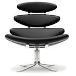 ej5 corona chair  - erik jorgensen