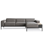 ej500 lagoon sofa with chaise  - erik jorgensen