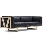 ej555 frame sofa  - erik jorgensen