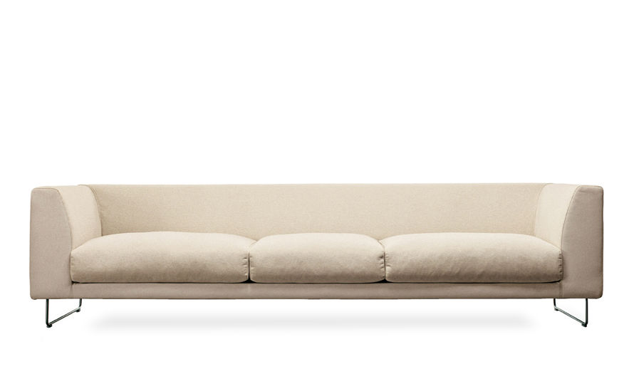 elan 90 inch three seat sofa