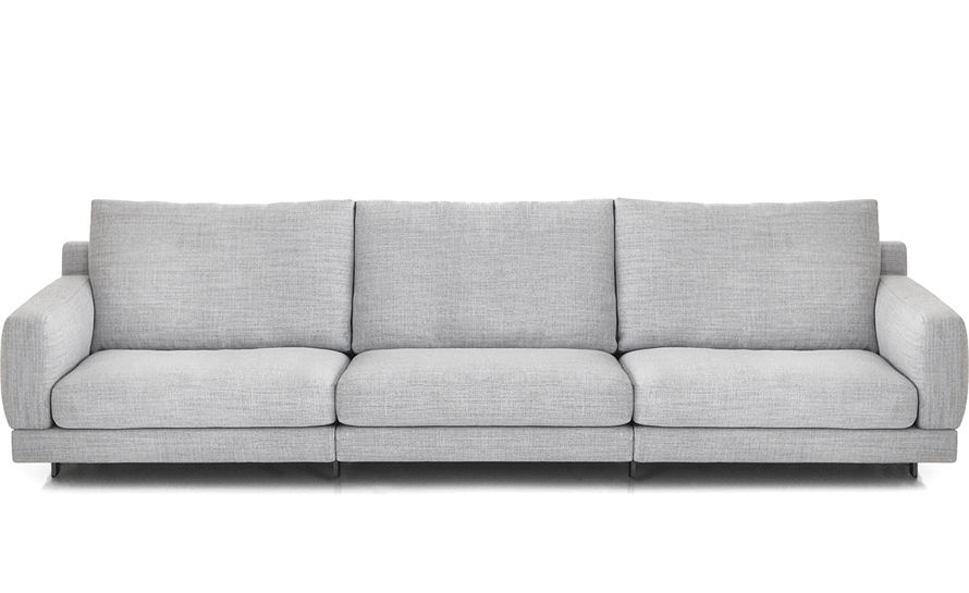 Elle 3 seat standard depth sofa Sofa depth