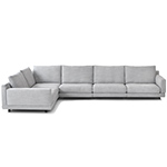 elle sectional sofa  -