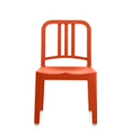 emeco 111 navy mini childs chair  - emeco