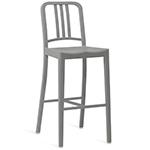 emeco 111 navy stool  - emeco
