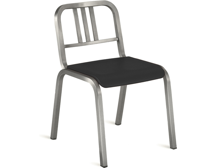 emeco nine-0 stacking side chair