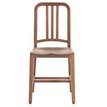 emeco navy wood chair  -