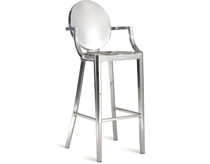 emeco kong stool with arms