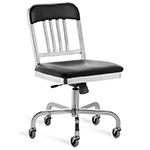 emeco navy swivel chair  - emeco