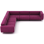 endless sofa composition 18 - Niels Bendtsen - bensen
