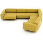 endless sofa composition 23 - Niels Bendtsen - bensen