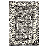 black on white collection estambul rug  -