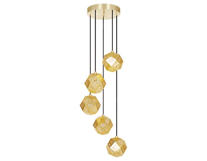 Etch mini chandelier hivemodern etch mini chandelier aloadofball Choice Image