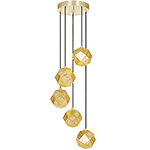 etch mini chandelier  -