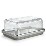 ettore sottsass es03 butter dish - Ettore Sottsass - Alessi