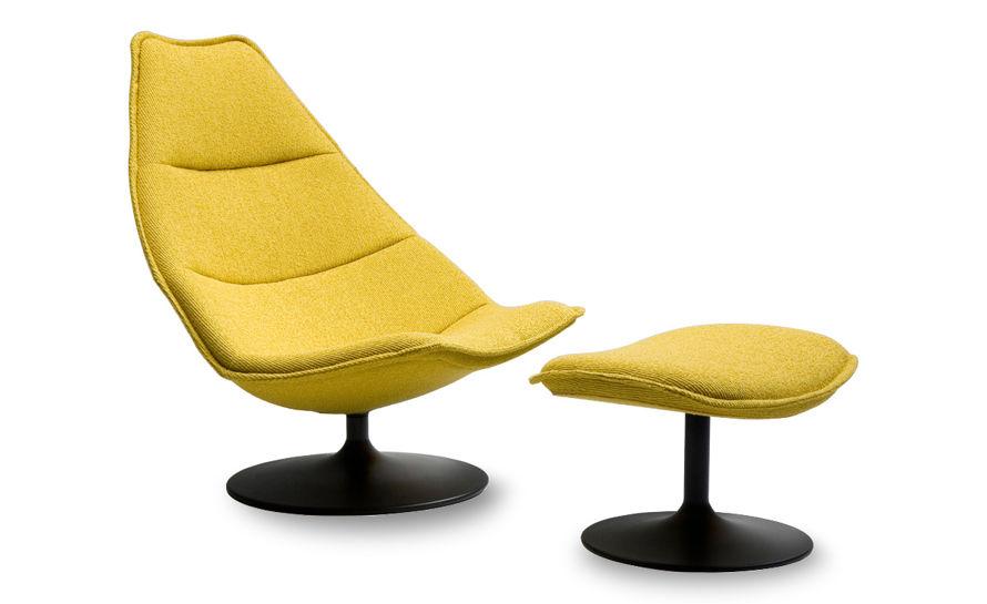 f585 lounge chair & ottoman