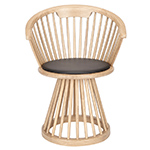 fan dining chair  -