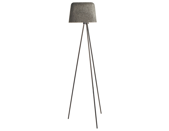 felt shade floor lamp