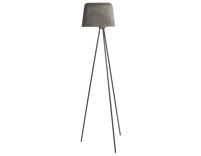 felt shade floor lamp